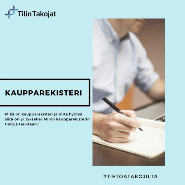 KAUPPAREKISTERIOTE 👀  Kaupparekisteri on julkinen rekisteri 🕵🏻♀️  Osakeyhtiöiden, kommandiittiyhtiöiden, avoimien yh...